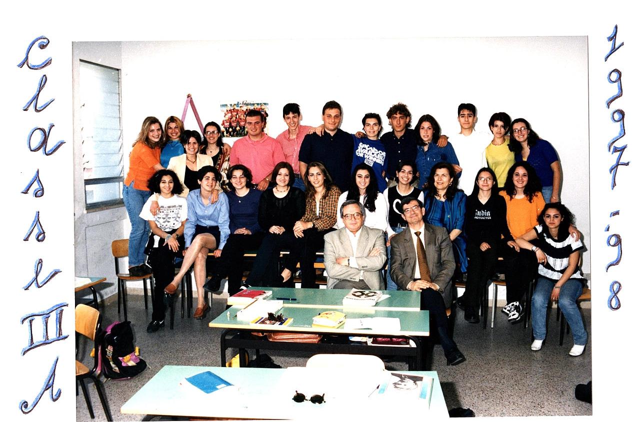 professori Matano e Viscido con alunni