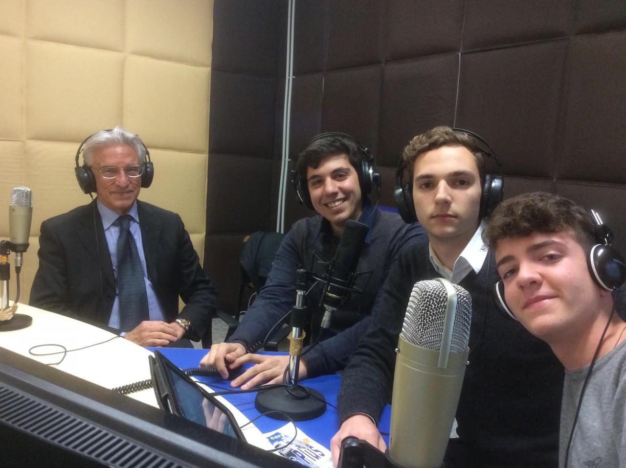 Sindaco di Salerno a Web Radio