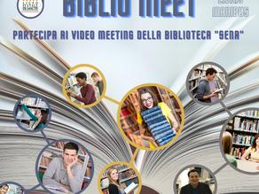 """""""Biblio Meet"""": un nuovo servizio della biblioteca """"Sena"""""""