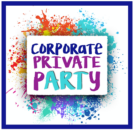Corporate Private Paint Party