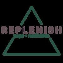 Replenish Yoga + Meditation Logo