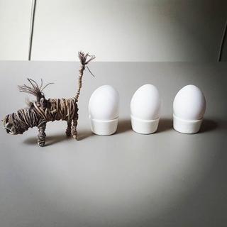 Porzellan Eierbecher