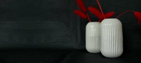 Riffel-Vase