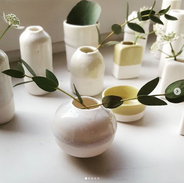 Mini Vasen aus Porzellan