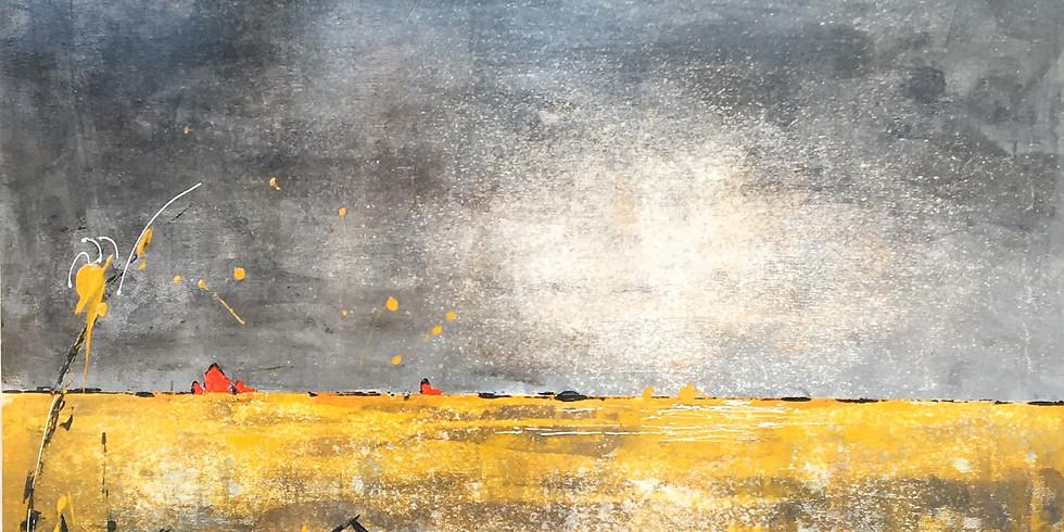Paysage semi-abstrait