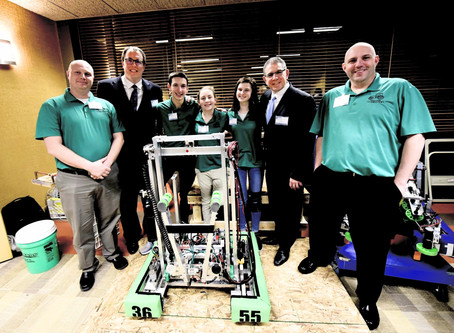 Local Teams Compete at FIRST Robotics World Championships