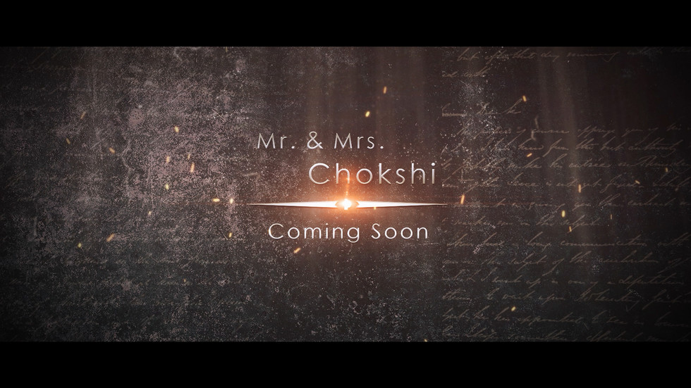 Mr. & Mrs. Chokshi Trailer