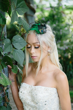 Wedding Accessories - Black Veil