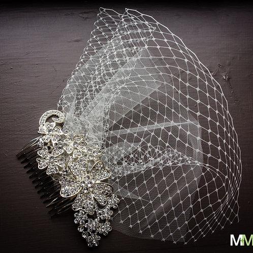 Vanessa Bird Cage Veil
