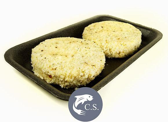 Handmade lemon pepper fishcakes