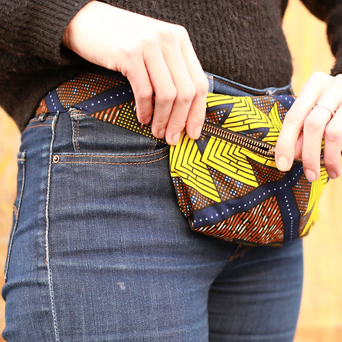 Yellow • The big belt bag