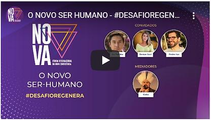 Live Forum da Nova Consciencia - O Novo Ser Humano