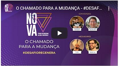 Live Forum da Nova Consciencia - O chamado para a mudança