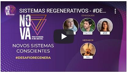 Live Forum da Nova Consciencia - Sistemas Regenerativos