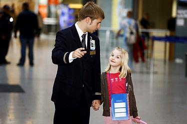 Сопровождение ребенка от авиакомпании