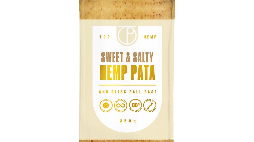 Sweet & Salty Hemp Pata and Bliss Ball Base