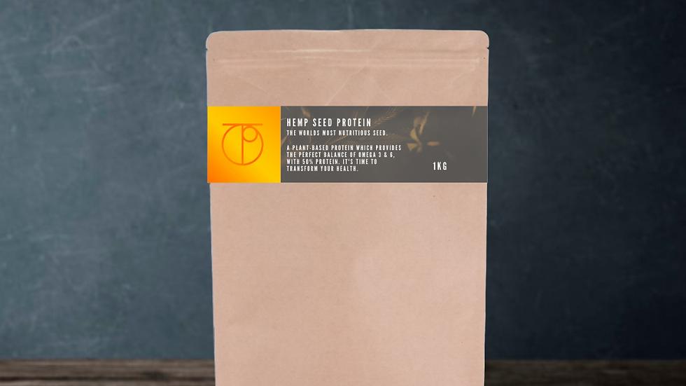 Plant Based Hemp Seed Flour/Protein 50% Isolate