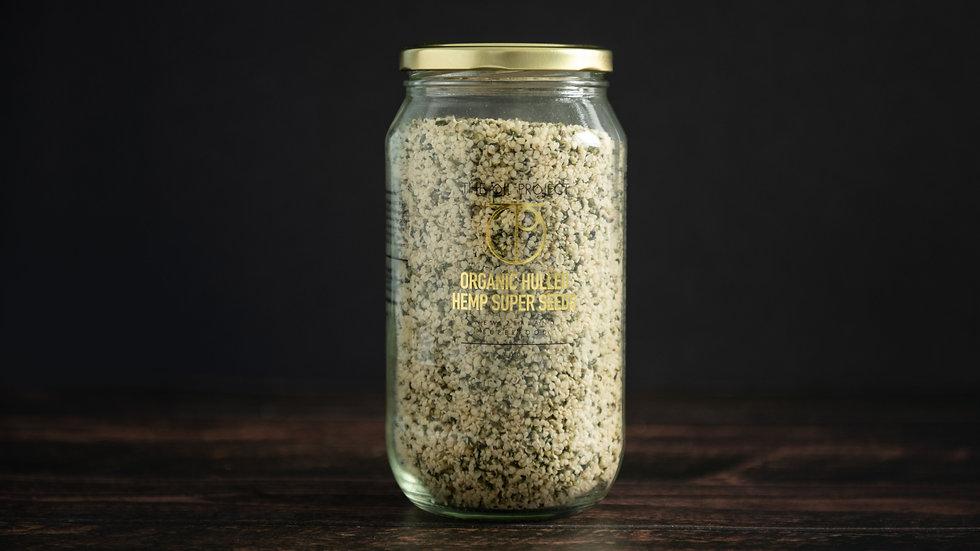 NZ Grown Hemp Seeds & Jar Refills
