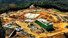 Overhead Picture of the upcoming Cherokee Casino in Murphy