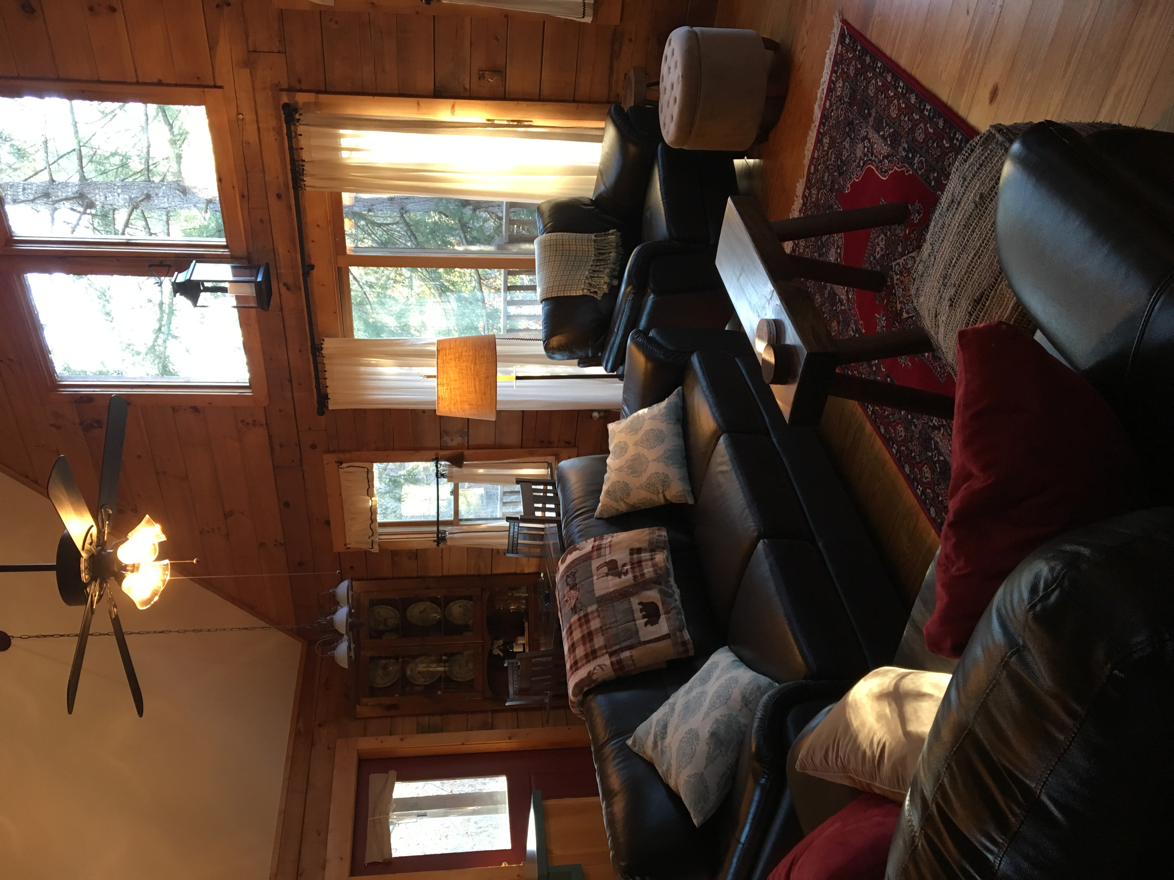Cozy Furnishings Throughout