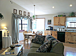 Gas Fireplace, living area