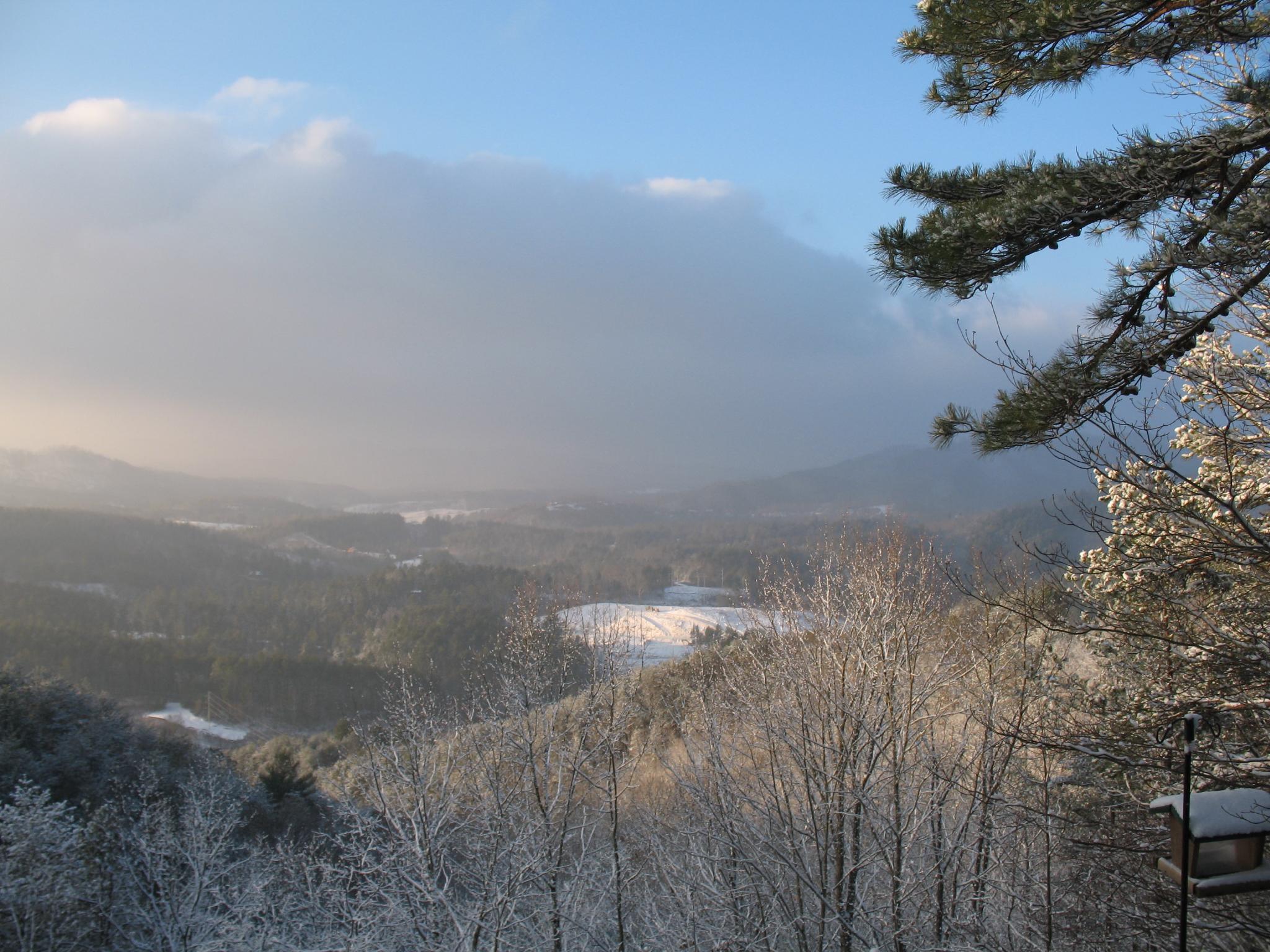 Snow At The Retreat