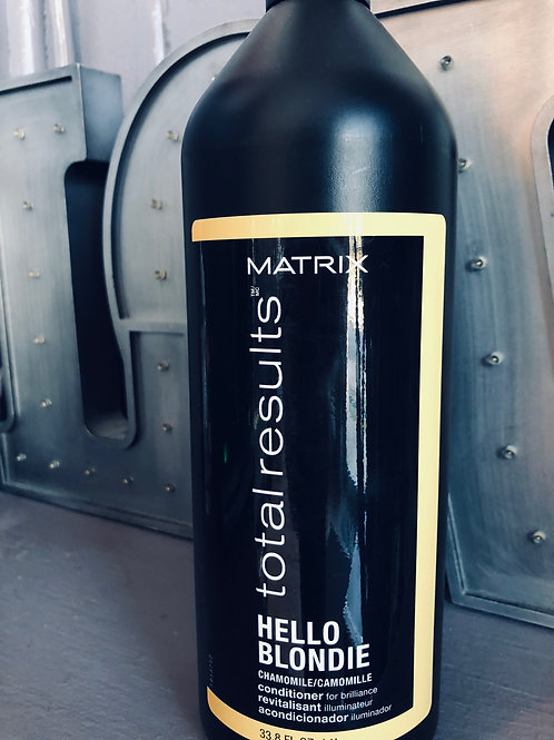 Matrix Hello Blondie Conditioner