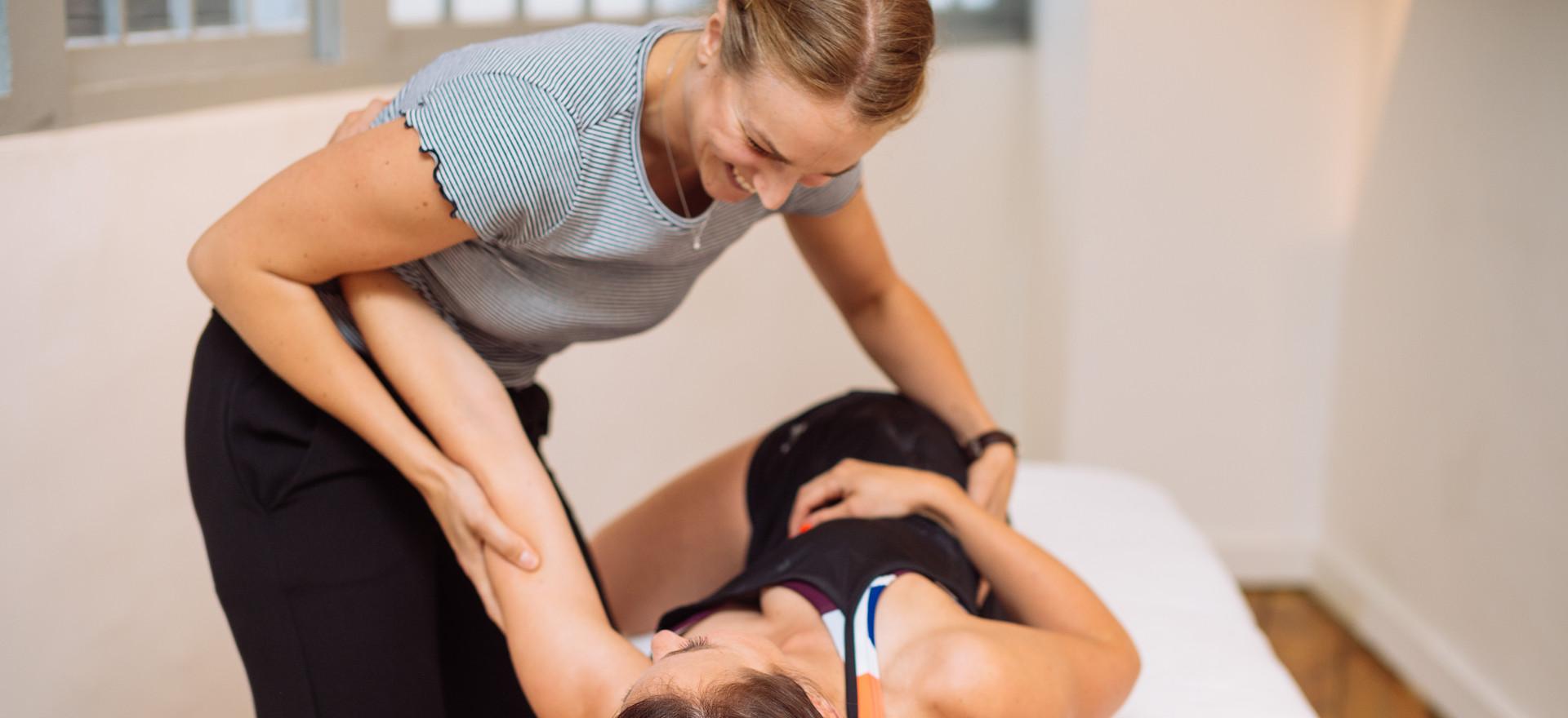 osteopath rebecca root at balanced osteopathy in farringdon ec1 london
