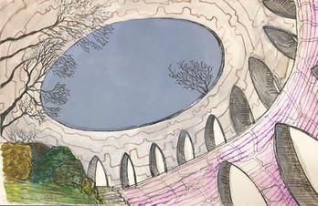 Sketch inside a Viewtower