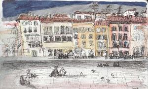 Italian Street Sketch