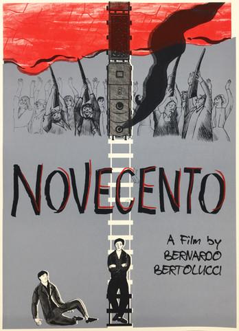 Poster for the Italian Film 'Novecento'