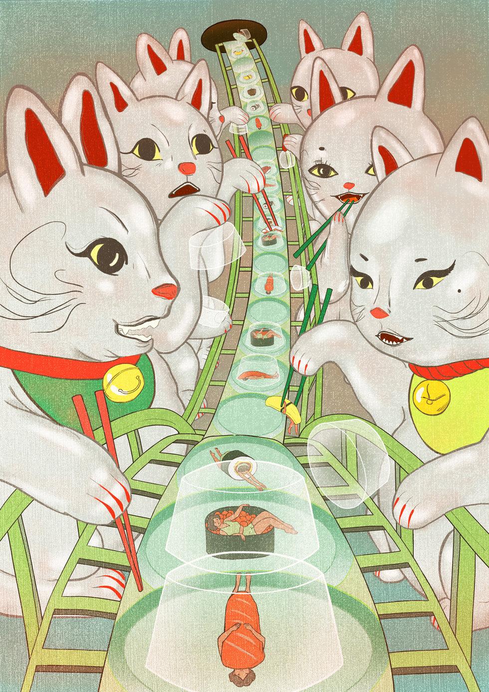 Roller Coaster Sushi Bar
