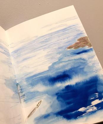 Sketch on the Flight