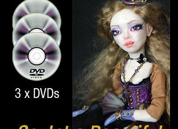 Video Class Steampunk Art Doll Workshop on DVD