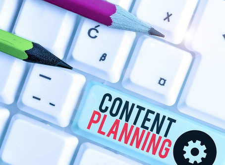 Creating a Content Plan