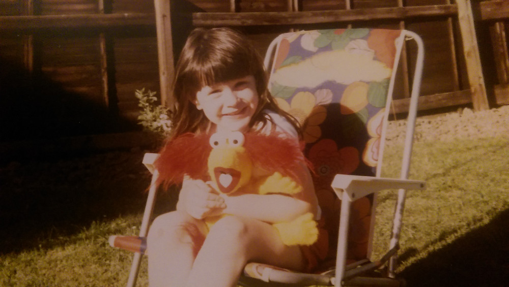 Me with Red Fraggle