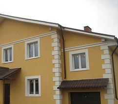 Декор на фасад из пенопласта