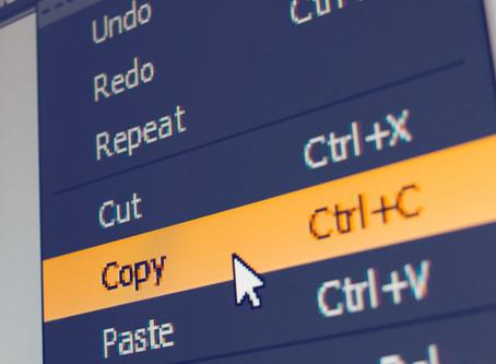 Do you copy and paste enough?