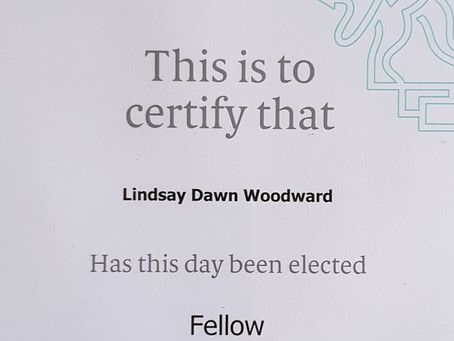 Lindsay Woodward Elected as Fellow of the CIM