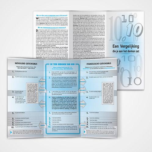 Vergelijking 10 geboden flyer - 100st