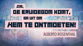 DIT WEEKEND LIVESTREAM MET ALBERTO ROSENTHAL