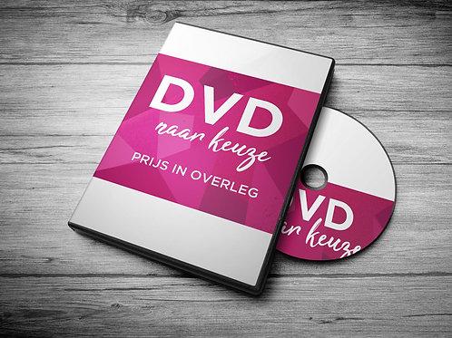 DVD naar keuze - prijs in overleg