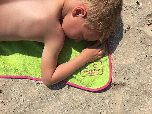 Serviette de plage enfant PISTACHE