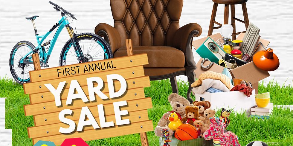 Central Ridge Club Yard Sale