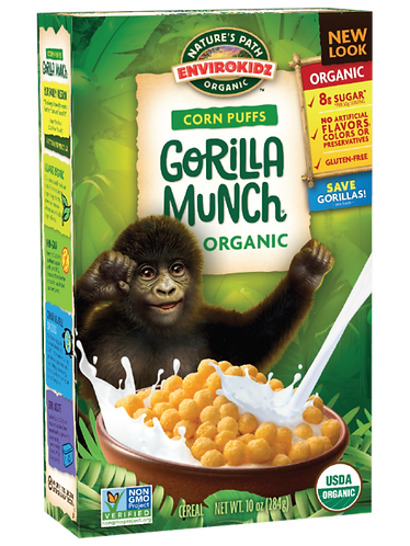 Nature's Path Gorilla Munch Cereal