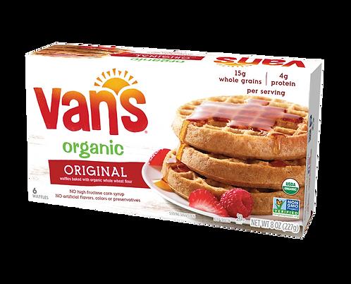 Van's Organic Waffles Original