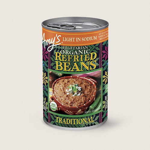 Amy's Refried Beans Low Sodium