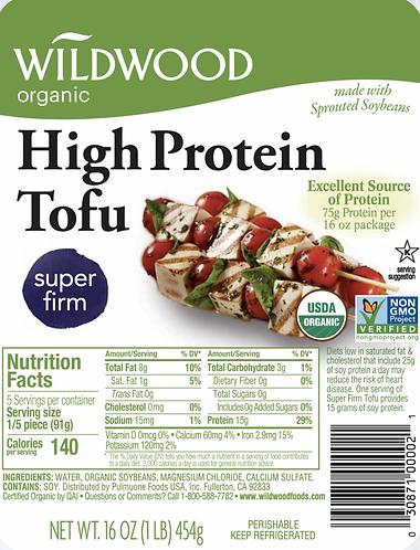 Wildwood Organic High Protein Tofu