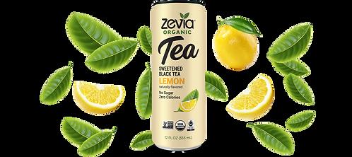 Zevia Black Tea Lemon