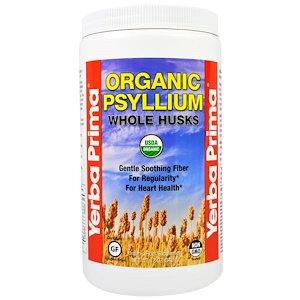 Yerba Prima Organic Psyllium Whole Husk